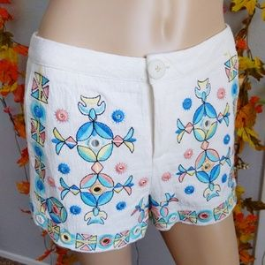 LOOK UP ITALIAN SHORTS EMBROIDERED